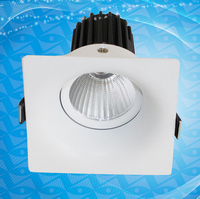 Free Shipping COB Led Downlight Dimmable Lamps 10W Led Spot Light Ceiling Downlight Recessed Cabinet