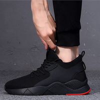 2019 New Breathable Comfortable Mesh Men Shoes Casual Lightweight Walking Male Sneakers Fashion Lace Up Footwear