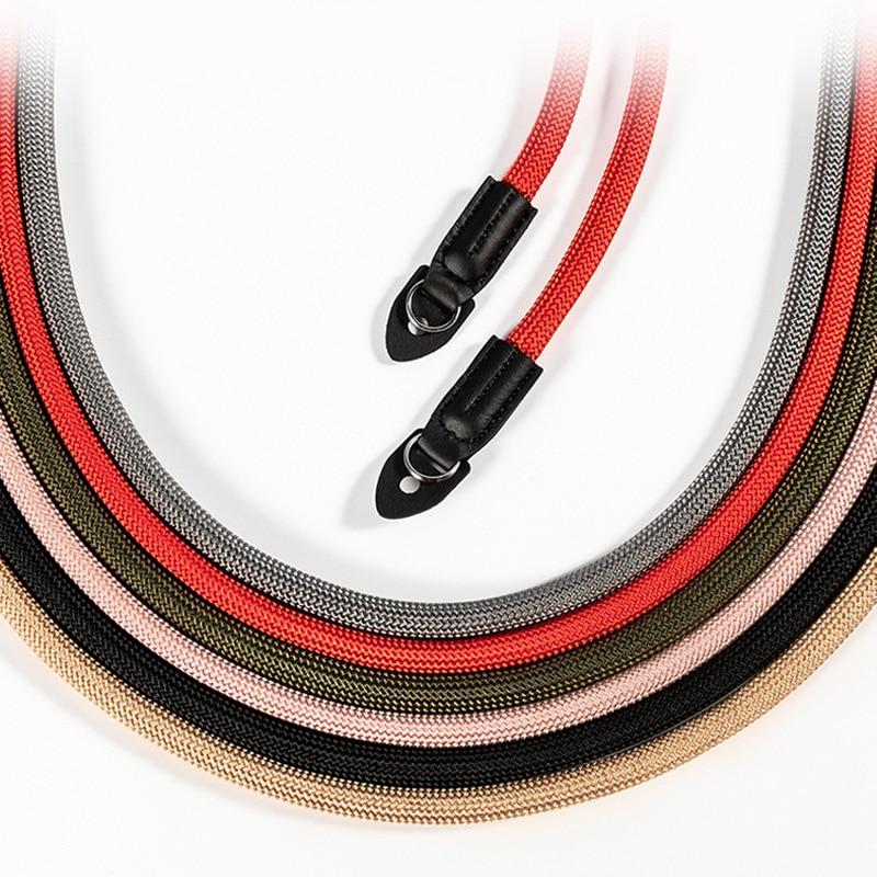 Nylon Rope Camera Shoulder Strap Neck Strap for Mirrorless Digital Camera Leica Canon Nikon Olympus Pentax