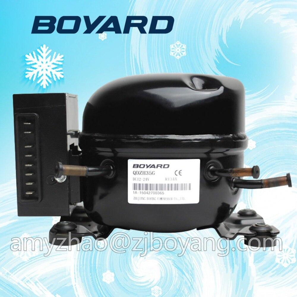 R134a R600a 12v fridge compressor the compressor r134a qd65h 155w