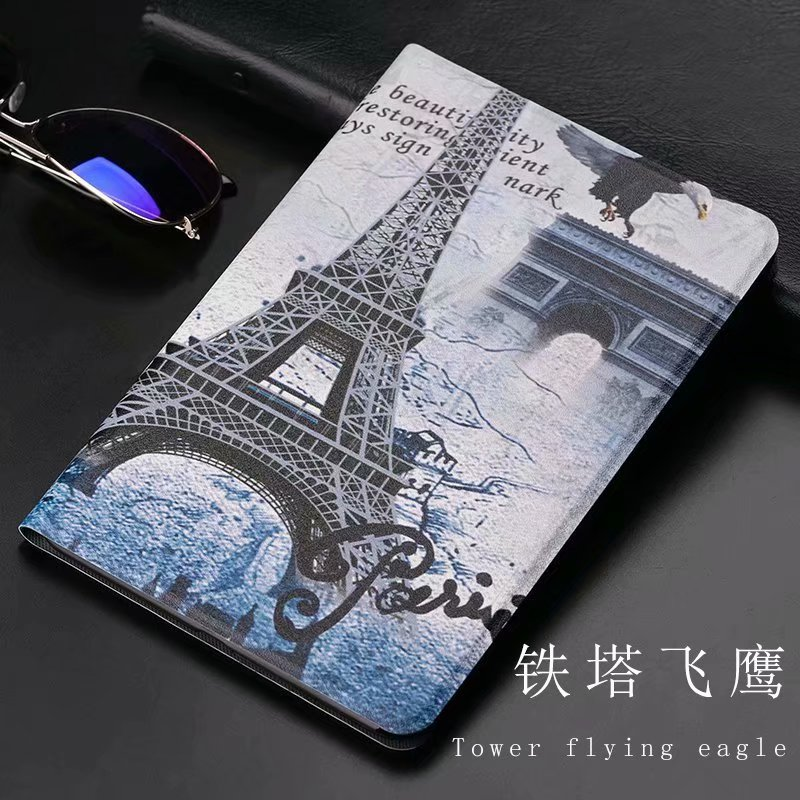 Ultra Thin Flip Folio Stand PU + TPU Cover For Xiaomi Mipad 4 Case For Xiaomi Mi Pad Mipad4 8.0 Inch Tablet Shell Funda + Gift