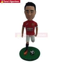 Soccer Bobble Head Personalized Soccer Cake Topper Soccer Personalized Gift Soccer Boyfriend Gift Soccer Christmas Gift Soccer B
