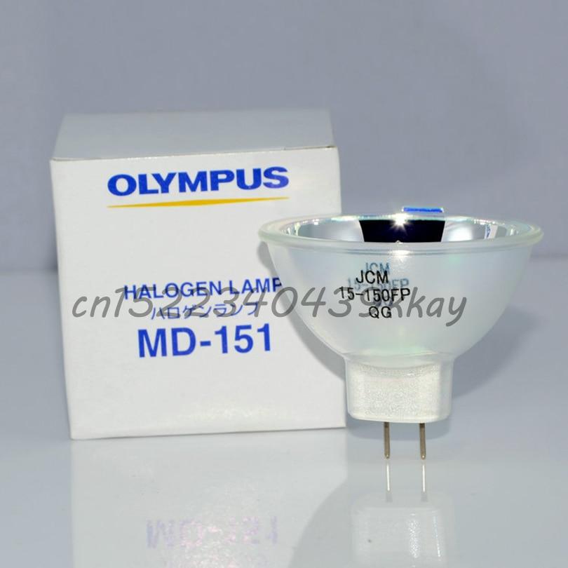MD-151, JCM 15-150FP 15 V 150 W lampe halogène, V70 d'endoscope microscope, JCM15-150FP, 15V150W MD151 projecteur ampoule CLH-SC CLH-2 CLK-3
