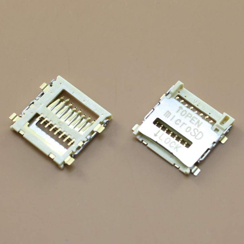 YuXi Sim card reader holder tray slot socket replacement parts for samsung S5600 S5603