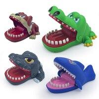 Креативные практичные шутки рот зуб Аллигатор для рук детские игрушки семейные игры классические кусающиеся руки крокодил игра