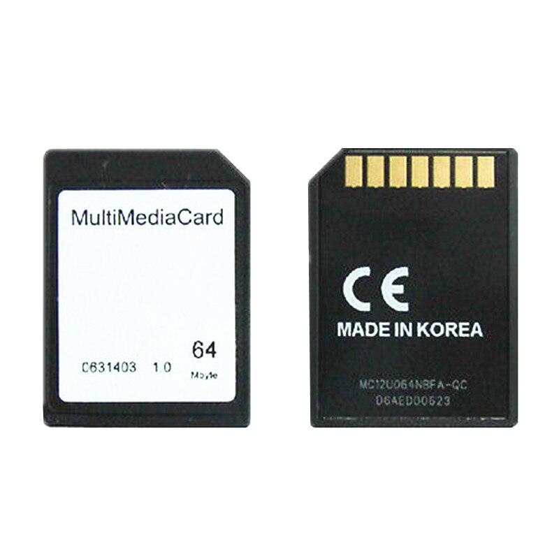 Univoltage 7Pin 64MB MMC CARD Multimedia Card For Subwoofer / Car Audio