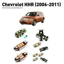 Led interior lights For Chevrolet HHR 2006-2011  12pc Led Lights For Cars lighting kit automotive bulbs Canbus Error Free цена