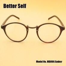MB006 Full Rim Vogue Frame Tortoise Stylish Eyeglasses PC Comfortable Hot Glasses