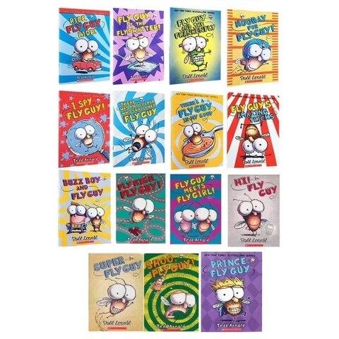livros de 15 set fly guy set