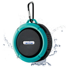 Portable suction cup mini bluetooth speaker wireless sound system stereo music peripheral waterproof splash outdoor