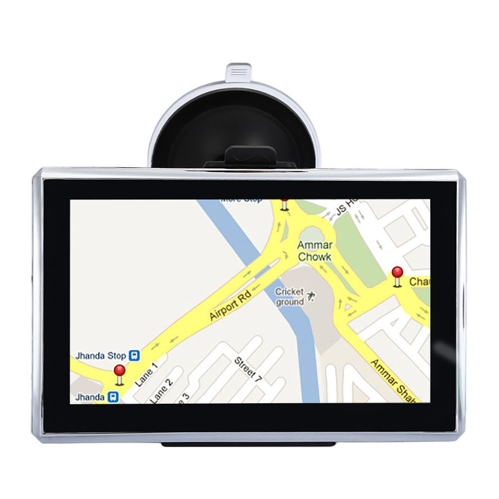 A2 5 inch Vehicle GPS Navigation TFT Touch Screen FM Radio Video Player 800 X 480 128M RAM+4GB ROM Windows CE FM E book TF USB