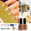 2016 Summer Fashionable Champagne Gold Nail Gel Polish Nail Art Varnish Lacquer  LED&UV Lamp Nail Glue Soak Off 40517