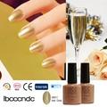 2016 Summer Fashionable Champagne Gold Nail Gel Polish Nail Art Varnish Lacquer  LED&UV Lamp Nail Glue Soak Off 40517