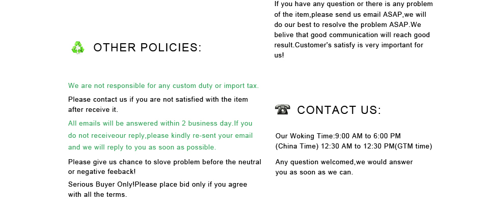 other policy and contact us 1