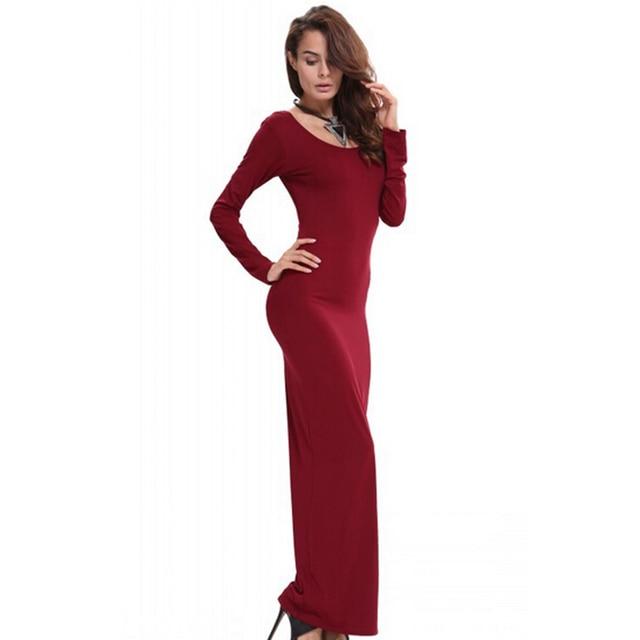 Rode stretch jurk