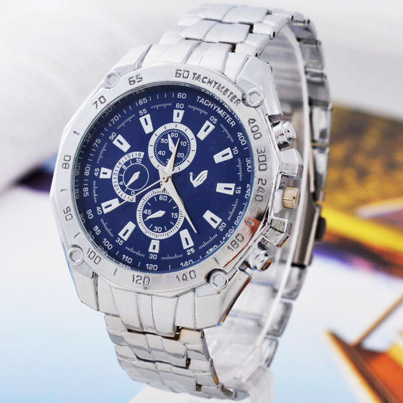 Fashion Men Women Luxury Military Business Quartz Watch Male Full Steel Sport Wristwatches