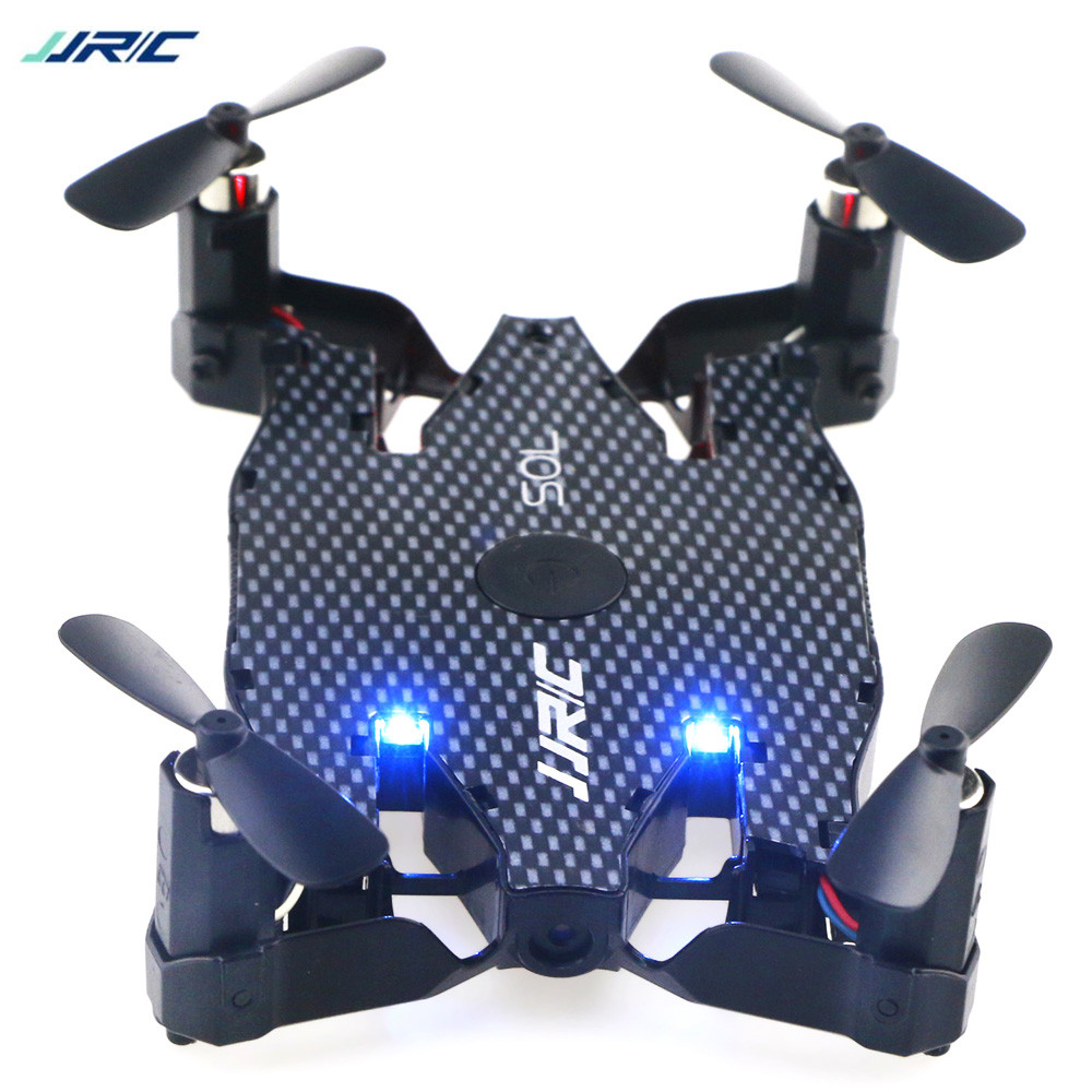 JJRC H49 SOL RC Drone Helicopter Foldable Altitude Hold 4-Channels JJRC Drone RC 720P HD Mini FPV Drone WiFi Quadcopter Drones