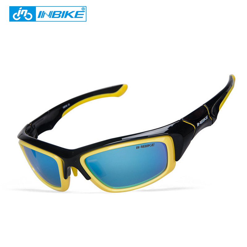 INBIKE Polarized Cycling Glasses Bicycle Sunglasses Bike Glasses Eyewear Eyeglass Goggles Spectacles UV Proof IG816