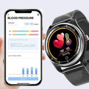Image 3 - Cobrafly reloj inteligente MX9 para hombre y Monitor de frecuencia cardíaca ECG, pulsera inteligente con control de la presión sanguínea, IP68 para teléfonos Android e Ios