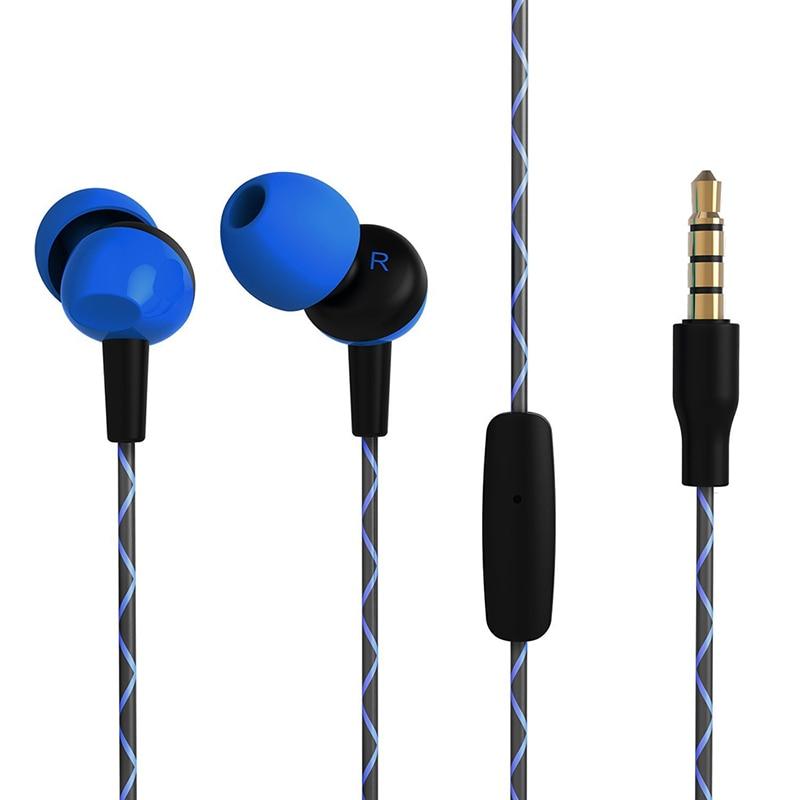 OARIE Earphone For iPhone 6 5 Series Stereo Headphones With Microphone 3.5mm jack Bass Headset For apple Xiaomi Sport Headphones