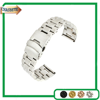 Stainless Steel Watch Band For Seiko 16mm 18mm 20mm 22mm Men Women Metal Strap Belt Wrist