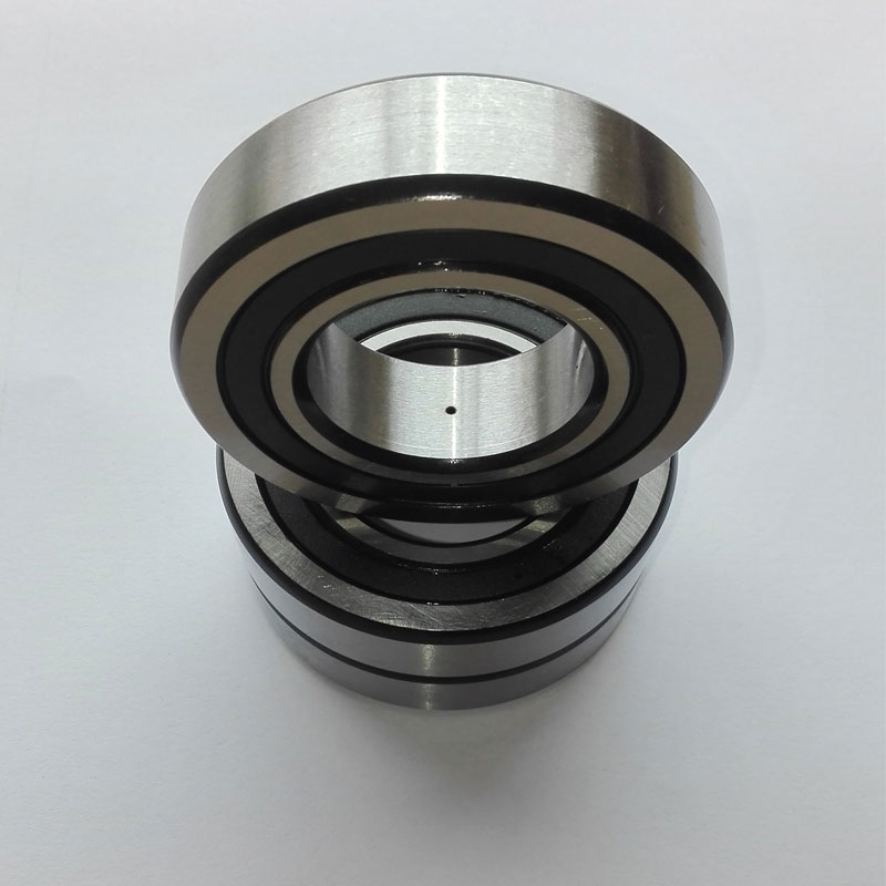 1 pieces Double row angular contact ball bearings LR5304NPPU old code 306804C 306704C Size: 20X62X22.2 1pcs 71822 71822cd p4 7822 110x140x16 mochu thin walled miniature angular contact bearings speed spindle bearings cnc abec 7