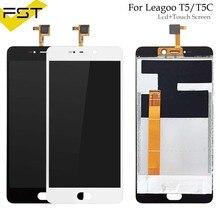 Черный/белый для LEAGOO T5 T5C ЖК-дисплей Дисплей и Сенсорный экран 5,5 «аксессуары для телефона в сборе для LEAGOO T5 Ремонт Часть + инструменты