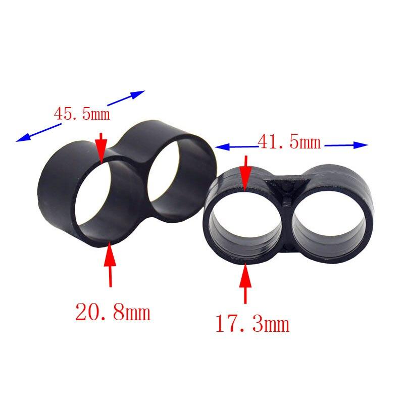 Wxrwxy лента для капельного орошения 1/2 конец шланга штекер складной кольцо waterstop адаптер 3/4 конец шланга гандикап орошения Plug 12 шт.