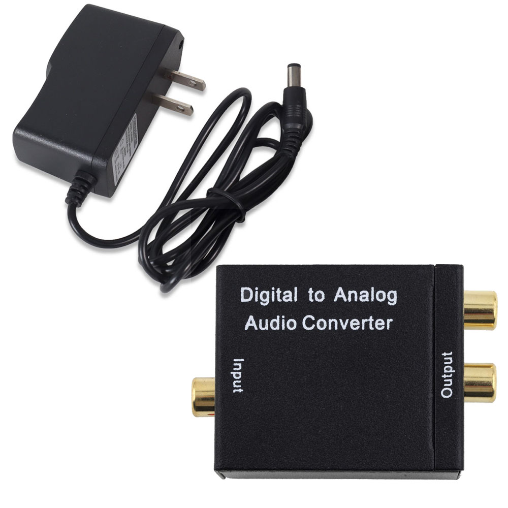digital optical toslink spdif coax coaxial input to analog l r rca RF Coaxial Input digital optical toslink spdif coax coaxial input to analog l r rca audio output converter adapter black on aliexpress alibaba group