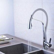 Недавно Прибытия Хромированная Отделка Ванной Кухонный Кран Смесителя На Бортике