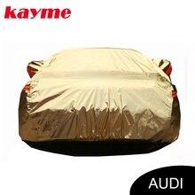 Kayme aluminium Wasserdichte autoplanen super sonnenschutz staub Regen auto abdeckung für audi a4 b6 b7 b8 a3 a6 c5 c6 q5 q7