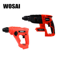 WOSAI 20V Electric Hammer Brushless Motor Cordless Hammer Electric Drill Electric Pick for Switch Freely(China)