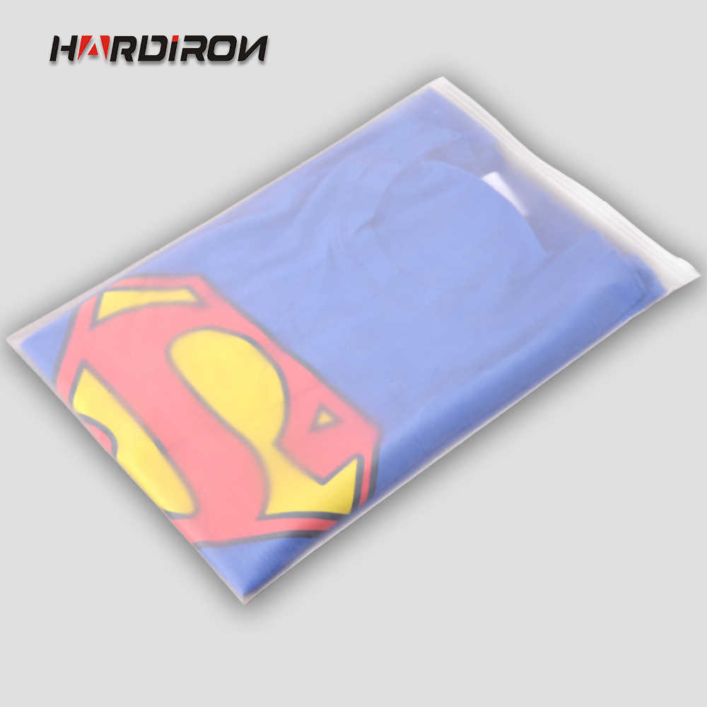 HARDIRON Matte Frosted Travel Storage Custom Size Pouches Recloseable Sealed Waterproof Transparent Zip Lock Bags for Clothing