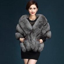 Wedding Elegant Long Pashmina Warm Female Waistcoat Cloak Coat Winter Women Faux Fur Long Shawl Stole Wrap Shrug Scarf Bridal