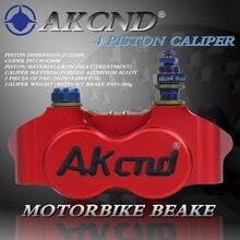 Motorbike Brake Caliper Motorcycle cylinder hydraulic pimp calipers racing street For Vespa Honda Yamaha bike Disc Radial brake