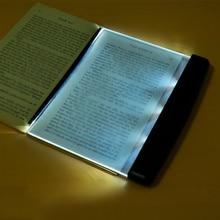 Новинка батарея Мода книга защита глаз ночное видение свет чтения беспроводной портативный светодиодный панель путешествия спальня книга ридер