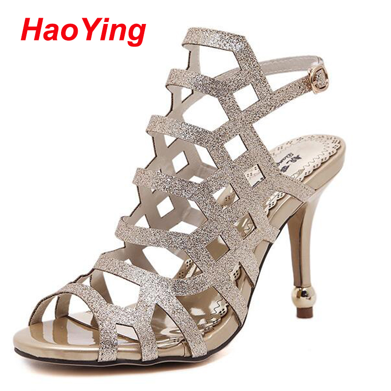 Popular Silver Strappy Sandals-Buy Cheap Silver Strappy Sandals ...
