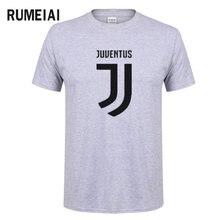 RUMEIAI 2017 t shirt high quality Men summer t-shirt Andrea Juventus no Pirlo no party fashion short sleeves top tee for men