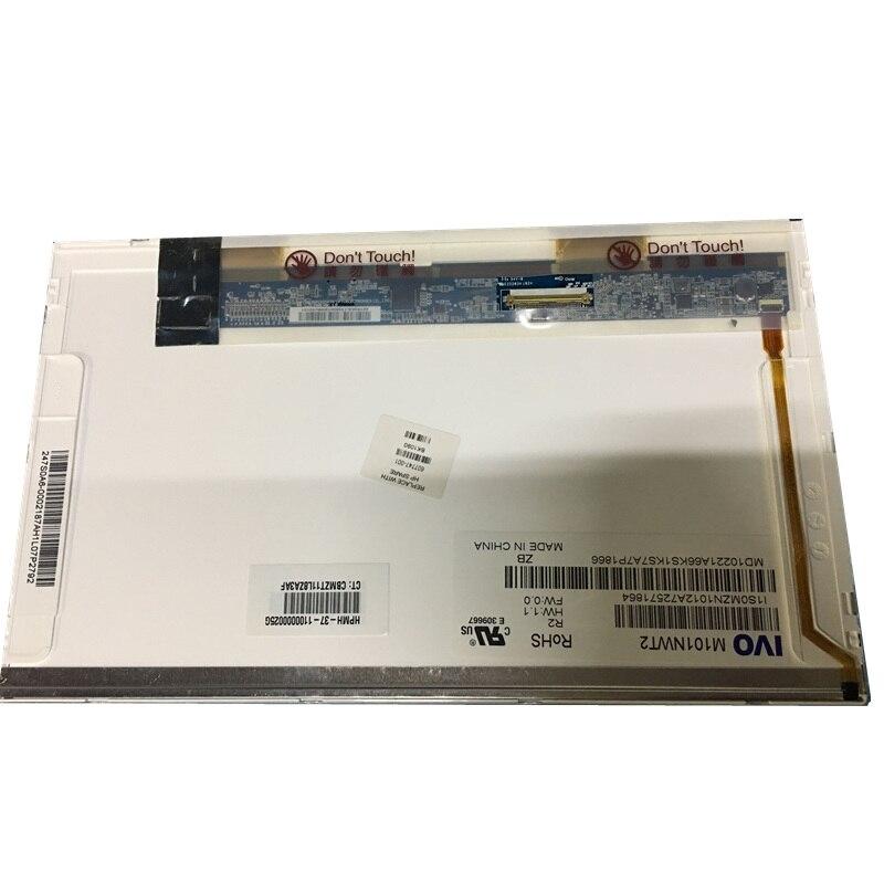 10,1 дюймовый ЖК экран для ноутбука M101NWT2 R2 R1 подходит для CLAA101NB01A LTN101NT02 LTN101NT07 N101LGE L11 L21 1024X600