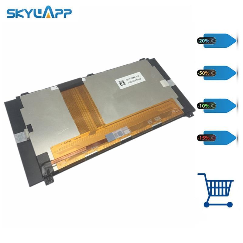 Skylarpu LCD display panel for SHARP GCX174AKM-T02 GCX174AKM - T02 F060000973613 86142-1 panel screen Free shipping logan lcd t02 для 13 27 черный