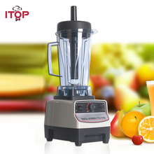 ITOP Heavy Duty Commercial Blender Machine BPA Free Professional Blender Mixers Fruit Juicer Food Processors EU/UK/US Plug