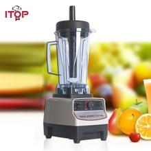 ITOP Heavy Duty Commercial Blender Machine BPA Free Professional Mixers Fruit Juicer Food Processors EU/UK/US Plug