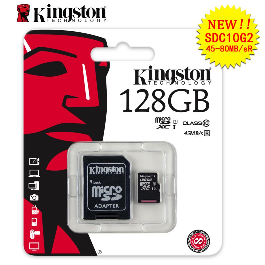 kingston memory card micro sd cards tf card 4gb 8gb 16gb 32gb 128gb 64gb class 10 mini sd card. Black Bedroom Furniture Sets. Home Design Ideas