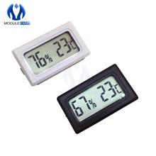 Mini LCD Digital Thermometer Temperature Meter Car Auto Home Indoor Incubator Temperature Monitor Tester Detector(China)