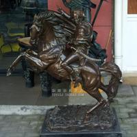Европы по фигурному бронзовый Наполеон через Альпы медь скульптура искусство декоративный подарок лошадь