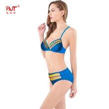 push up swimwear swimsuit sexy monokini red yellow blue rope cross twist braided rope biquinis bathing suit