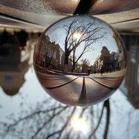 100mm Clear k9 Crystal Ball for Photography&Divination&Wedding&Home&Office Decoration