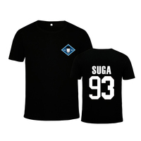 NEW KPOP Korean BTS Album WINGS Bangtan Boys Hip Hop HipHop Monster Young Forever Cotton Tshirt