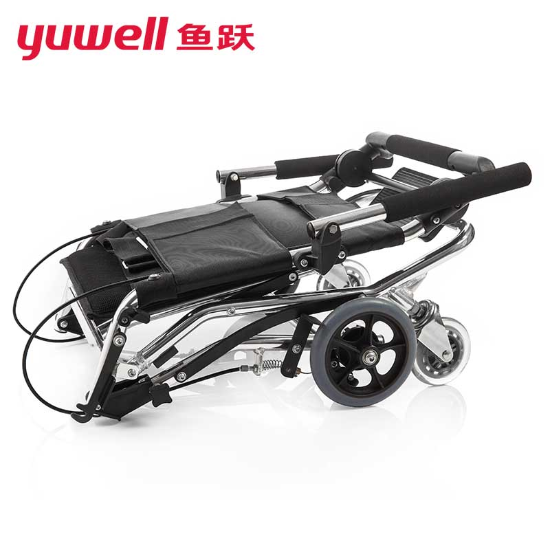Yuwell Manual Wheelchair Lightweight Folding Portable