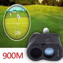 600M/900M monoküler teleskop lazer telemetre avcılık açık spor Golf telemetre mesafe ölçer lazer ölçüm araçları